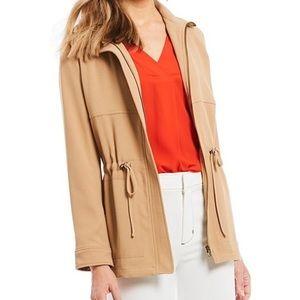 Gibson Latimer Tan Zip Up Jacket